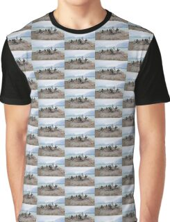 Gentoo Penguin Rookery on Trinity Island, Antarctica Graphic T-Shirt