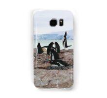 Gentoo Penguin Rookery on Trinity Island, Antarctica Samsung Galaxy Case/Skin