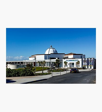 Fleetwood-The Marine Hall  Photographic Print
