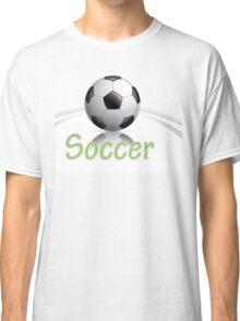 Soccer ball graphics Classic T-Shirt