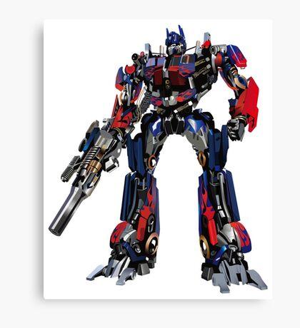 Creative transformers design graphics Canvas Print