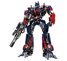 Creative transformers design graphics Photographic Print