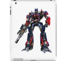 Creative transformers design graphics iPad Case/Skin