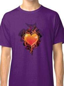 Flame ignition heart Classic T-Shirt