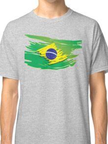 Brazil flag stylized Classic T-Shirt