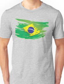 Brazil flag stylized Unisex T-Shirt