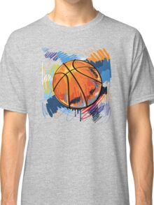 Basketball graffiti art Classic T-Shirt