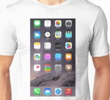 iPhone Homescreen Unisex T-Shirt