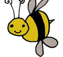 BUMBLEBUZZ BEE BY LO Sticker