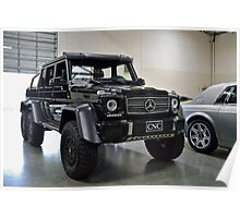 G65 AMG 6x6 Poster