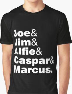 Joe Jim Alfie Caspar Marcus Graphic T-Shirt