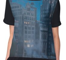 Midnight snow in NYC  Chiffon Top