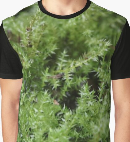 Moss on a small scale Graphic T-Shirt
