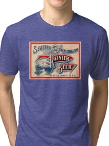 RAINER BEER Tri-blend T-Shirt