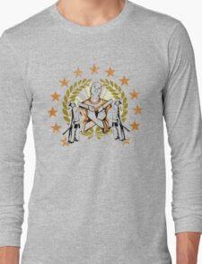 Gangster graphics Long Sleeve T-Shirt