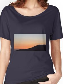 sunset at the countryside Women's Relaxed Fit T-Shirt