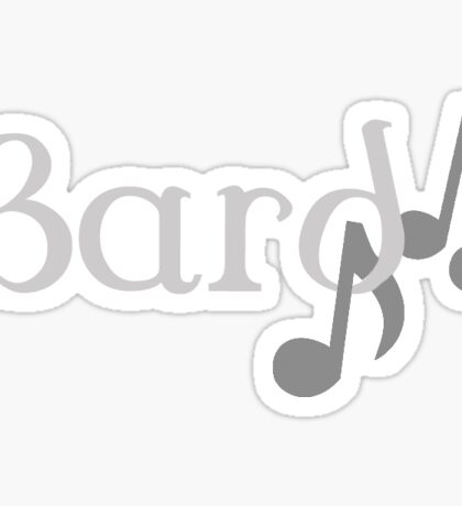 Bard - Dungeons and Dragons Sticker