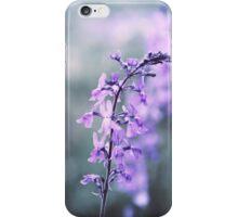 Flower meadow in vintage look iPhone Case/Skin
