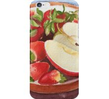 Strawberry time iPhone Case/Skin