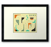 SMALL TALK Framed Print
