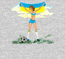 Ukraine soccer girl Unisex T-Shirt