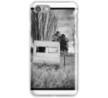 Abandoned Caravan_2 iPhone Case/Skin