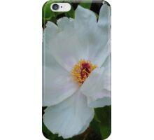 White Peony iPhone Case/Skin