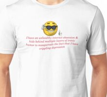 Crippling Derpression meme Apparel Unisex T-Shirt
