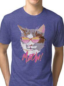 PURRberry Tri-blend T-Shirt