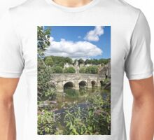 The Town Bridge, Bradford on Avon, Wiltshire, United Kingdom. Unisex T-Shirt