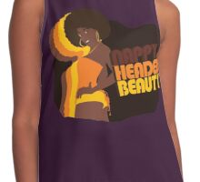 """Nappy Headed Beauty"" Contrast Tank"