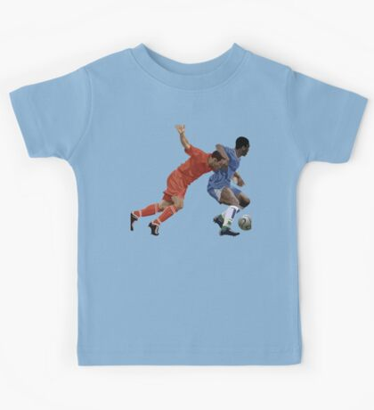 Basketball cartoon characters Kids Tee