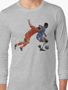 Basketball cartoon characters Long Sleeve T-Shirt