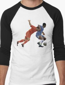 Basketball cartoon characters Men's Baseball ¾ T-Shirt