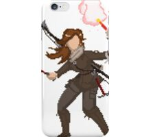 pixel raider iPhone Case/Skin