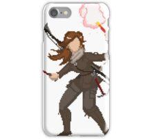 pixel raider iPhone Case/Skin