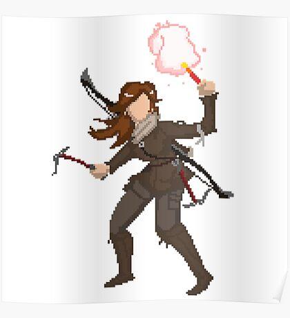 pixel raider Poster