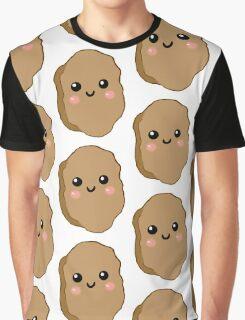 kawaii chicken nugget Graphic T-Shirt