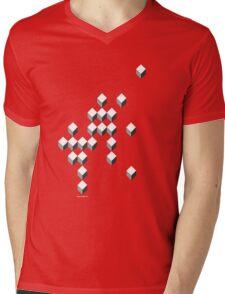 Kube Mens V-Neck T-Shirt