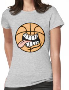 Creative cartoon drawing Womens Fitted T-Shirt