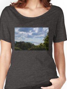 Monday Morning Blues, Lyme Dorset UK Women's Relaxed Fit T-Shirt