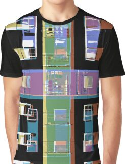 Abstract city apartments Graphic T-Shirt