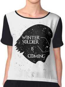 Winter Soldier is Coming Chiffon Top