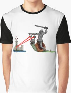 The Knight and the Snail - random edition Graphic T-Shirt