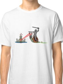 The Knight and the Snail - random edition Classic T-Shirt