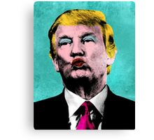 Trump Warhol Canvas Print