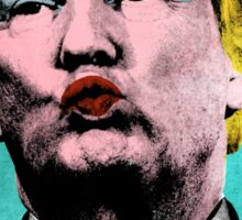 Trump Warhol Sticker