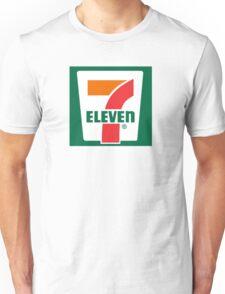 7-11 Logo, Simple. Unisex T-Shirt