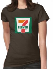 7-11 Logo, Simple. Womens Fitted T-Shirt