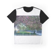 Cherry Blossoms Of Paris Graphic T-Shirt